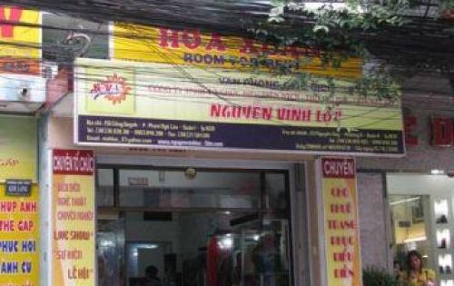 Cho thuê nhà mặt tiền đường Cống Quỳnh, P.Nguyễn Cư Trinh, Quận 1, 3.5m x 13.5m 1T2L 30tr/th
