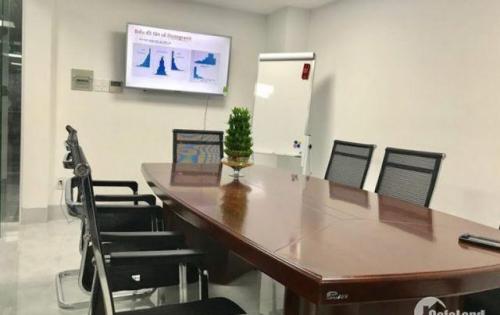Cho thuê nhà mặt tiền đường Nguyễn Thượng Hiền P11 Quận 10. Lầu 1 đến lầu 5 tiện mở văn phòng giao dịch.
