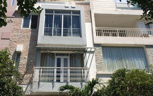 Cho thuê nhà nguyên căn khu nhà phố Hưng Gia Hưng Phước nội thất cơ bản có thể kinh doanh 0909.495.001