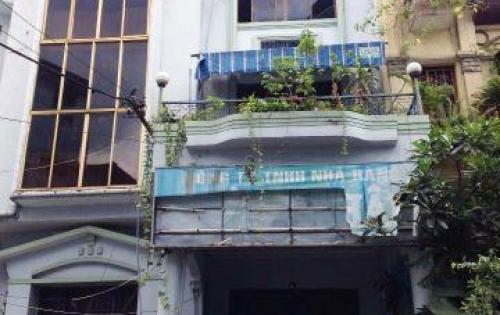 Cho thuê >>> : Tòa nhà văn phòng 8 x 17 hầm trệt 3 lầu HXH Phan Đăng Lưu, P7, PN