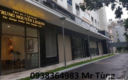 Cho thuê lô shop trệt,chung cư The Botanica,104 Phổ Quang,Q.Tân Bình, giá 40 triệu/tháng