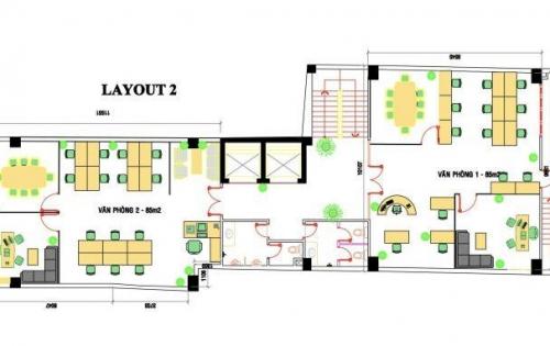 Cho thuê văn phòng làm việc tại quận Tân Bình 85 m2 giá 25 triệu/tháng