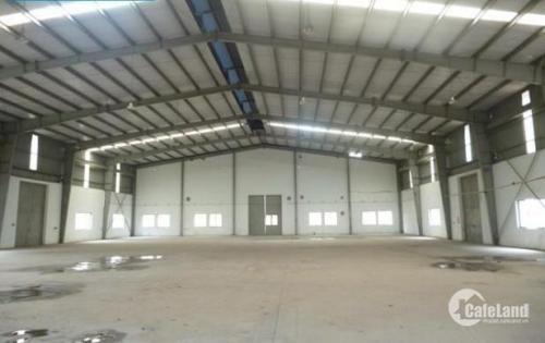 Cho thuê xưởng 2005m2 tại cụm CN Quốc Oai, Thạch Thất, Hà Nội điện nước tốt