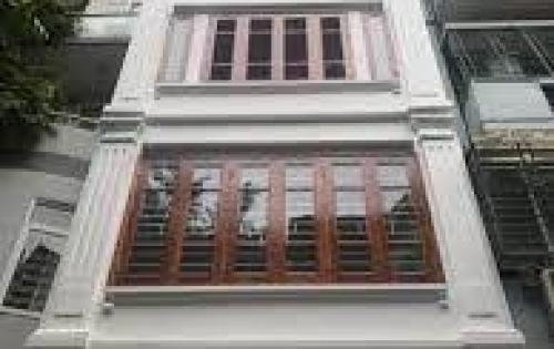 Cho thuê nhà mặt phố Hoàng Văn Thái, 50m2x5T, MT 4m. Giá thuê 23tr/th. LH 01629084485