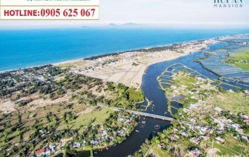 New Hội An Mansion – đất nền biệt thự, shop house -Ven sông Trà Quế, biển An Bàng
