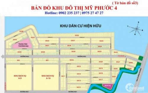 cần tiền bán gấp lô đất MP4,giá rẻ tiện đầu tư ngay ĐH Việt Đức, ĐH Thủ Dầu Một. LH0902960122