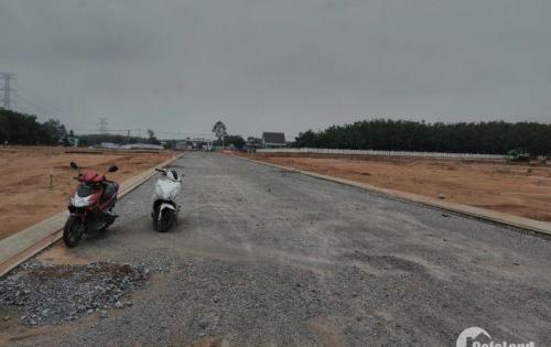Bán đất xã Bến Cát, ngã 4 đường Hùng Vương, phường An Điền, LH: 0981179718.