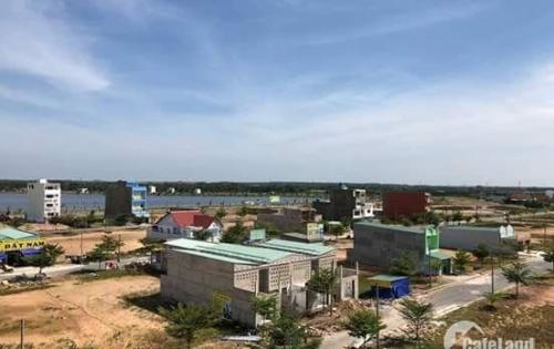 Cần tiền Bán Gấp đất Bến Lức Phan Văn Mảng Bến Lức Ngay thế giới di dộng 525 triệu/nền 100m2.