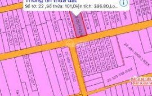 bán đất trảng dài - tân phong 10x40 , 2 mặt tiền . giá rẽ .
