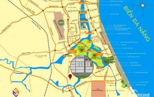 Bán đất nền dự án 3 lô liền kề đường Đô Đốc Lân, diện tích 300m2, dự án khu dân cư phía nam cầu Cẩm Lệ