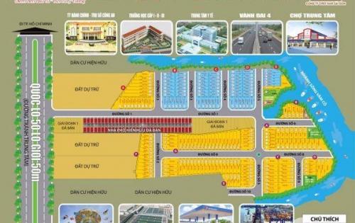 Đất nền dự án mặt tiền pl50, lộ giới 50m