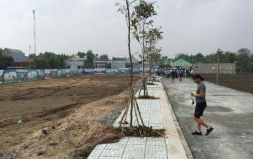 đất nền mặt tiền đường 835c, sổ hồng riêng,cơ sở hạ tầng hoàn thiện