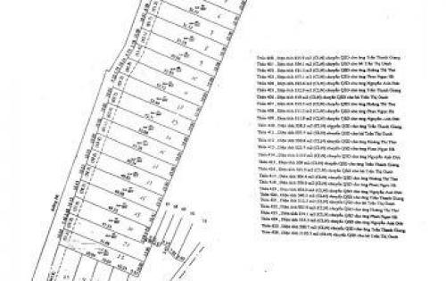 Dự án đất tại KCN Chơn Thành 1, diẹn tích 500m2 chỉ 1.5tr/m2