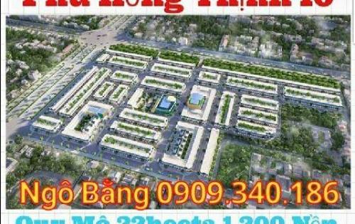 Siêu dự án Phú Hồng Thịnh 10, vip nhất Dĩ An, sổ hồng, giá gốc chủ đầu tư, LH: 0909340186