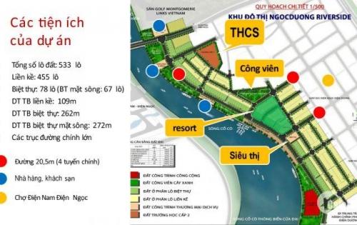 Cực hot đặt chỗ siêu dự án gần biển, ven sông Cổ Cò, 50 triệu/nền