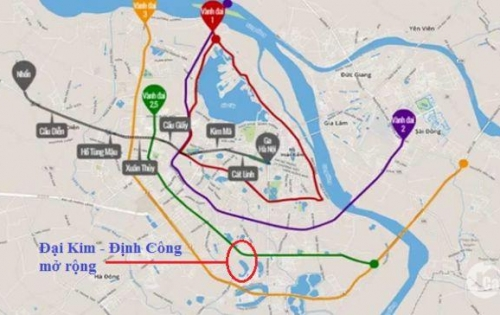 Liền kề dự án Đại Kim Định Công mở rộng- LH: 01689.059.159