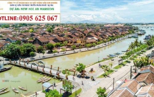 hạ tầng xung quanh dự án new hội an mansion Nằm sát sông và ̀kết nối dễ dàng ra bãi biển An Bàng