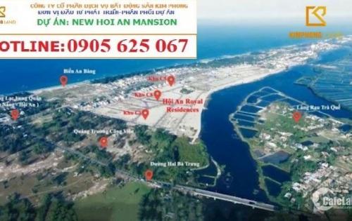 Cực hot - mở bán Block đẹp nhất dự án NEW HỘI AN MANSION biển An Bàng