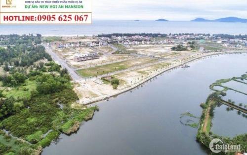 Khu đô thị New Hội An Mansion- nằm giữa bãi biển An Bàng và sông Trà Quế