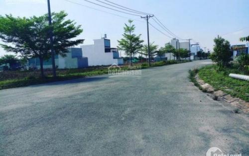 Giá 18.5tr/m2, bán lô MT đường 21m đất nền KDC Hồng Quang 13A huyện Bình Chánh, DT 122,4m2