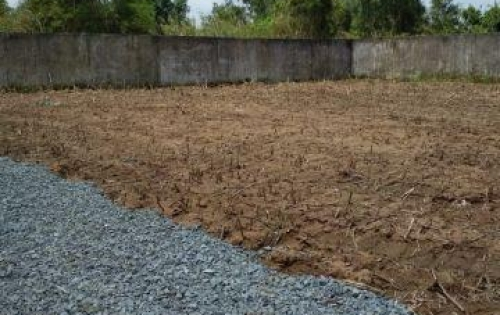 Gia đình tôi cần bán gấp lô đất 4x29m ở thị trấn Tân Túc huyện Bình Chánh, sổ hồng riêng  từng nền