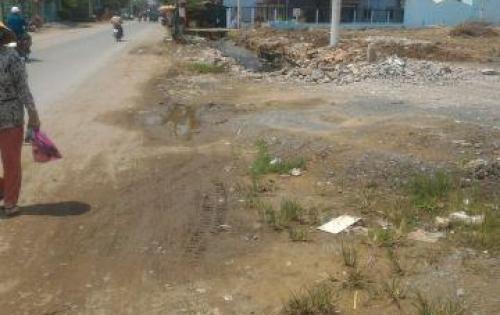 Bán đất mặt tiền tt tân túc bình chánh nằm ngay quốc lộ 1a và nguyễn văn linh .