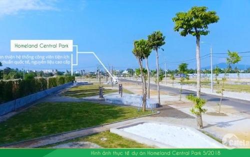 Đất nền ven biển TP Đà Nẵng-Homeland Central Park-Tâm điểm đầu tư