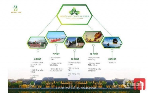 Bán đất 100% view hồ sinh thái Bàu Tràm, gần cảng biển Liên Chiểu, bãi tắm Xuân Thiều Đà Nẵng
