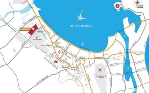 xuất ngoại bán 2 lô đất nền liền kề khu đô thị bậc nhất Tây Bắc Đà Nẵng