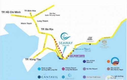 Đất nền Seaway Long Hải, cam kết sinh lời 20%/năm