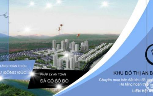Bán 2 lô đường T-8, vị trí đẹp, gần sông, gần đường Nguyễn Tất Thành, giá đầu tư
