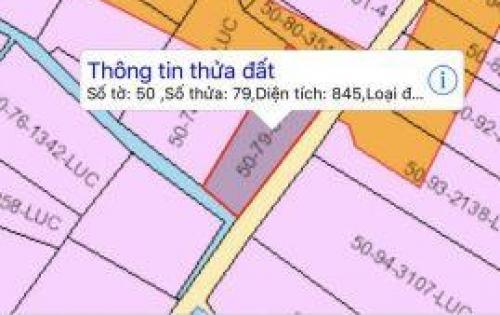 Chính chủ cần tiền bán gấp lô đất gần cao tốc Bến Lức-Long Thành.