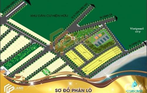 Cần tiền bán gấp lô mặt tiền biển dự án Hamubay Phan Thiết