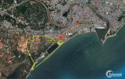 Tỉ suất lợi nhuận gấp đôi khi đầu tư vào đất nền tại dự án Hamubay Phan Thiết, từ 14 - 25tr/m2