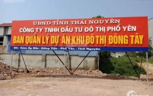 Lô góc cuối cùng KĐT Đông Tây Samsung Lý Thái Nguyên cam kết pháp lý cơ hội sinh lời LH 0985.845.581
