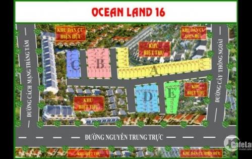Mở bán 68 nền Ocean Land 16 Phú Quốc Ngã 3 Nguyễn Trung Trực – Cây Thông Ngoài, TT Dương Đông, Phú Quốc, lh: 0120 8264 102