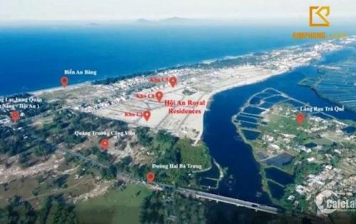 Đất dự án gần biển An Bàng - Hội An Mansion. Kề Sông - Cận Biển