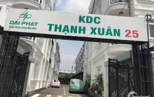 Kẹt tiền bán gấp lô đất KDC Thạnh Xuân 25, Q.12, DT 175.7m2, giá 3.8 tỷ, LH: 0936.953.963