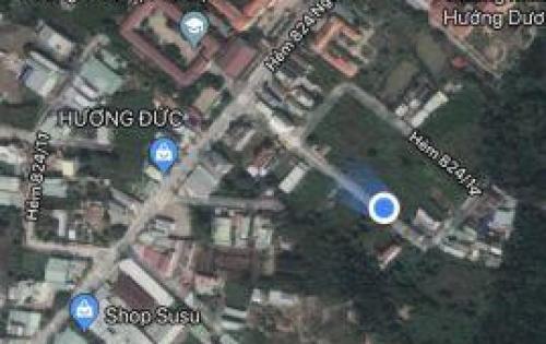 Bán gấp đất hẻm 824 đường Nguyễn Bình, xã Nhơn Đức, SỔ ĐỎ, 23 triệu/m2