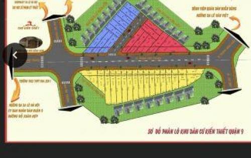 -Bán đất khu dân cư Kiến Thiết, phường Hiệp Phú, Q9, khu dân cư hiện hữu, xây dựng tự do.