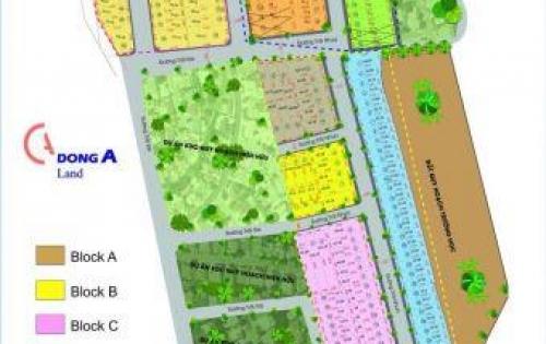 Đất nền dự án sau chợ Long Trường, Q9 giá chỉ 32tr/m2.