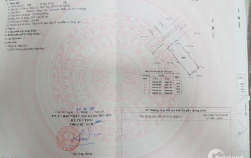Chính chủ cần sang miếng đất cạnh KCN Linh Trung 2,phường bình chiểu,có SHR,lô 81m , 1 tỷ4