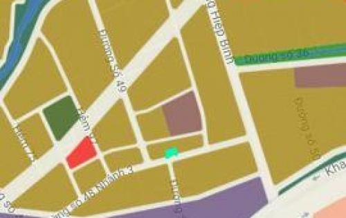 Bán đất Mặt tiền đường 49, Hiệp Bình Chánh, 3 phút tới Phạm Văn Đồng, thanh toán 1.9 tỷ, sang tay kiếm lời