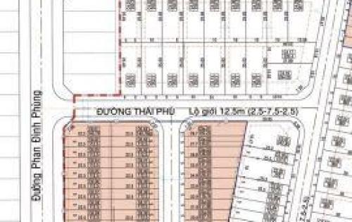 Đất nền mặt tiền Phan Đình Phùng - Quảng Ngãi. Phố thương mại cực hiếm Lh 0937122762 Ngân