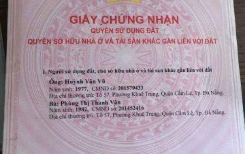 Bán đất Phước Trường 14, An Cư 4, Sơn Trà, Đà Nẵng