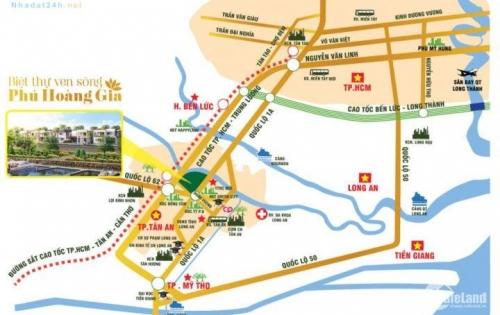 Bán gấp lô đất duy nhất mặt tiền Hùng Vương, 725m2, đã có sổ đỏ.  LH: 0906391402