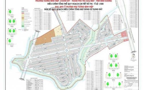 Bán đất Chánh Mỹ Trung tâm Thành Phố Thủ Dầu Một giá gốc đầu tư siêu lợi nhuận Lh 0986123819