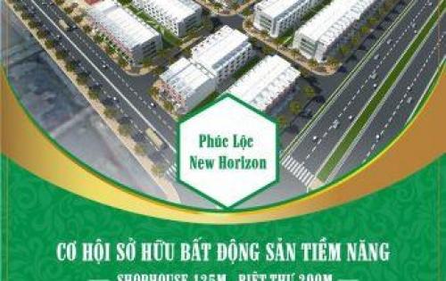 Bán đất nền dự án Phúc Lộc mặt đường Worldbank rộng 50m giá chỉ 12Tr/m2