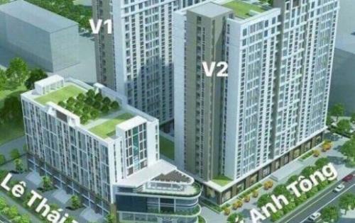Nhượng lại căn 6 tầng 17 tòa V2 (V21706) dự án chung cư thu nhập thấp V-City, TP Bắc Ninh