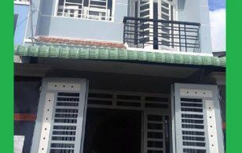Bán nhà đường Nguyễn Hữu Trí, DT 5x15 1 trệt 2 lầu, đường trước nhà 5m, giá 1,5 tỷ